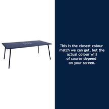 Monceau 194 x 94cm Table - Deep Blue