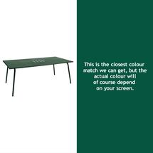 Monceau 194 x 94cm Table - Cedar Green