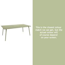 Monceau 194 x 94cm Table - Willow Green