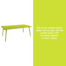 Monceau 194 x 94cm Table - Verbena Green