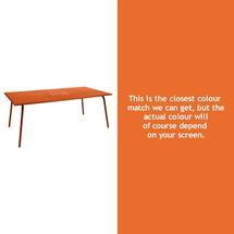 Monceau 194 x 94cm Table - Carrot
