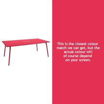 Monceau 194 x 94cm Table - Pink Praline