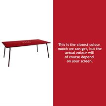 Monceau 194 x 94cm Table - Poppy