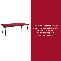Monceau 194 x 94cm Table - Chilli