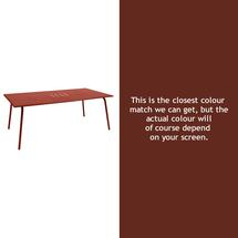 Monceau 194 x 94cm Table - Red Ochre