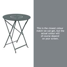 Floreal 60cm Round Table - Storm Grey