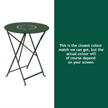 Floreal 60cm Round Table - Cedar Green