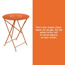 Floreal 60cm Round Table - Carrot