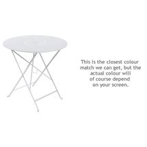 Floreal 77cm Round Table - Cotton White