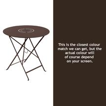 Floreal 77cm Round Table - Russet