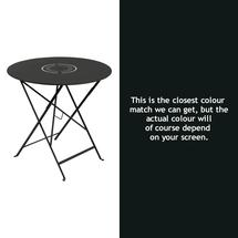 Floreal 77cm Round Table - Liquorice