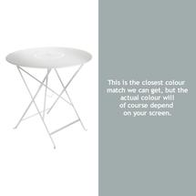 Floreal 77cm Round Table - Steel Grey