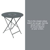 Floreal 77cm Round Table - Storm Grey