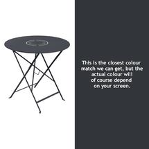 Floreal 77cm Round Table - Anthracite
