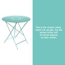 Floreal 77cm Round Table - Lagoon Blue
