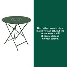 Floreal 77cm Round Table - Cedar Green