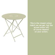 Floreal 77cm Round Table - Willow Green