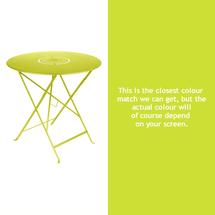 Floreal 77cm Round Table - Verbena Green