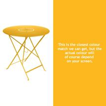 Floreal 77cm Round Table - Honey