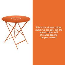 Floreal 77cm Round Table - Carrot