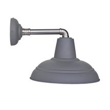 Southwark Outdoor Industrial Wall Light - Charcoal
