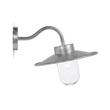 Swan Neck Wall Light - Galvanised