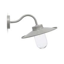 Swan Neck Wall Light - Flint