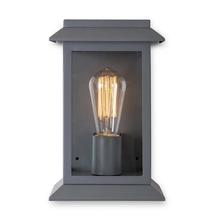 Grosvenor Outdoor Wall Lantern - Charcoal
