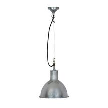 Outdoor Industrial Pendant Light - Galvanised