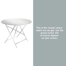 Floreal 96cm Round Table - Steel Grey