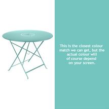 Floreal 96cm Round Table - Lagoon Blue