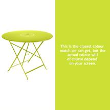 Floreal 96cm Round Table - Verbena Green