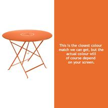 Floreal 96cm Round Table - Carrot