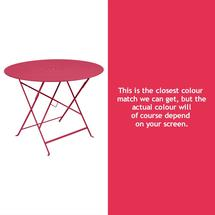 Floreal 96cm Round Table - Pink Praline