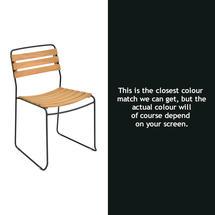 Suprising Teak Chair - Liquorice