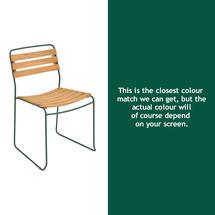 Suprising Teak Chair - Cedar Green