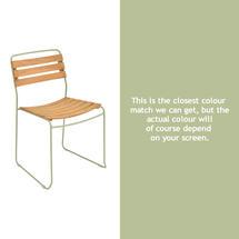 Suprising Teak Chair - Willow Green