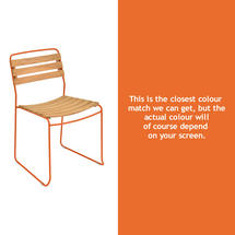 Suprising Teak Chair - Carrot