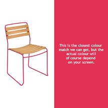 Suprising Teak Chair - Pink Praline