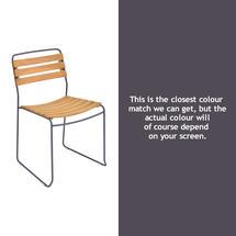 Suprising Teak Chair - Plum