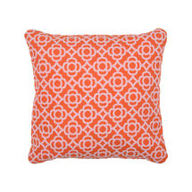 Lorette Cushion Square 44 X 44 - Carrot