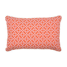 Lorette Cushion Rectangle 68 X 44 - Carrot