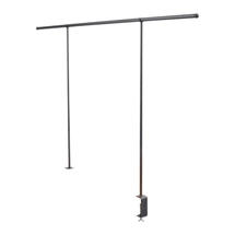 Over Table Festoon Rail - Black