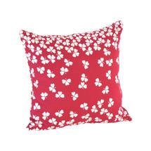 Trefle Cushion 44cm x 44cm – Berry Red