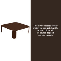 Bebop Square Table - 29cm high- Russet