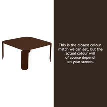 Bebop Square Table - 42cm high- Russet