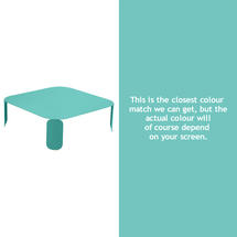Bebop Square Table - 29cm high- Lagoon Blue