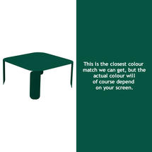 Bebop Square Table - 42cm high - Cedar Green