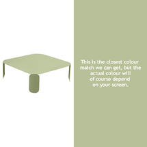 Bebop Square Table - 29cm high - Willow Green