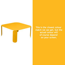 Bebop Square Table - 42cm high - Honey